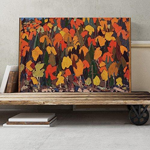 big-box-art-tom-thomson-autumn-foliage-canvas-print-multi-colour-30-x-20-inch-76-x-50-cm