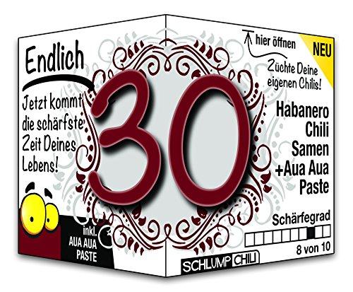 Endlich 30 – das witzige Geburtstagsgeschenk für junge Männer und Frauen