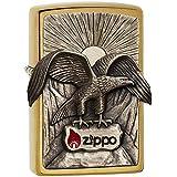 Zippo 2004821 Eagle 2011 Emblème Briquet Laiton 3,5 x 1 x 5,5 cm