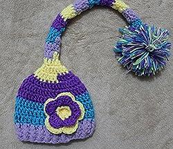 Junsi born Baby Infant Knitted Cap Crochet Costume Photo Photography Prop G-51 by Huizhou City Junsi Electronics Co., Ltd.