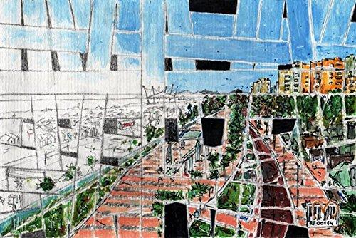 riccione-by-maudelli-strip-canvas-fake-riccione-italia-fa-ri-02-cartoncino-bianco-dipinto-in-acrilic
