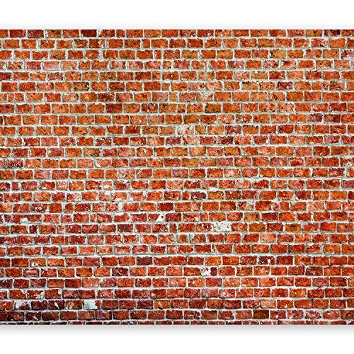murando – Papier peint intissé 250x175 cm – Trompe l oeil – Tableaux muraux déco XXL – brique texture f-B-0030-a-d