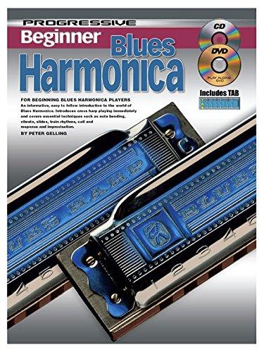 Progressive Beginner Blues Harmonica - P...