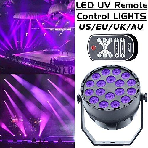 [Projektionslampe LED Laserstrahler ] Bühnenlicht Lichter Discolicht 18 LEDs Außenbeleuchtung Gartenlicht für Weihnachten Karneval Dekoration
