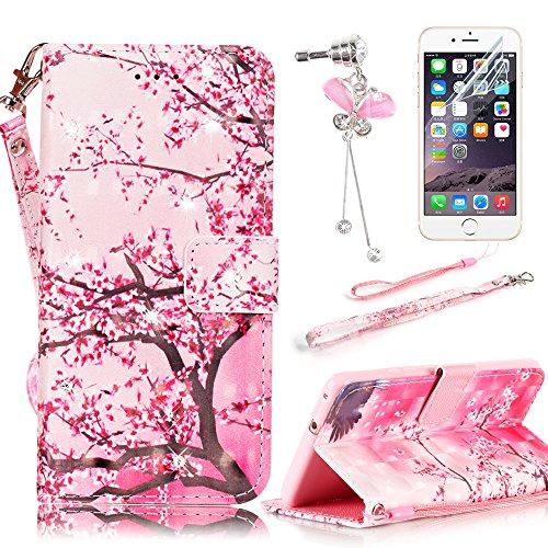 sunroyalr-cover-iphone-7-plus-custodia-iphone-7-plus-55-portafoglio-wallet-flip-libro-dipinto-case-c