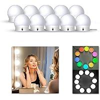 LEDGLE kit de lumière LED pour miroir de courtoisie de Hollywood pour maquillage,lampe maquillage,lampe pour miroir…