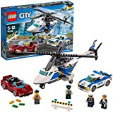 LEGO City Police High Speed Chase Building Blocks for Kids 5 to 12 Years ( 294 Pcs) 60138