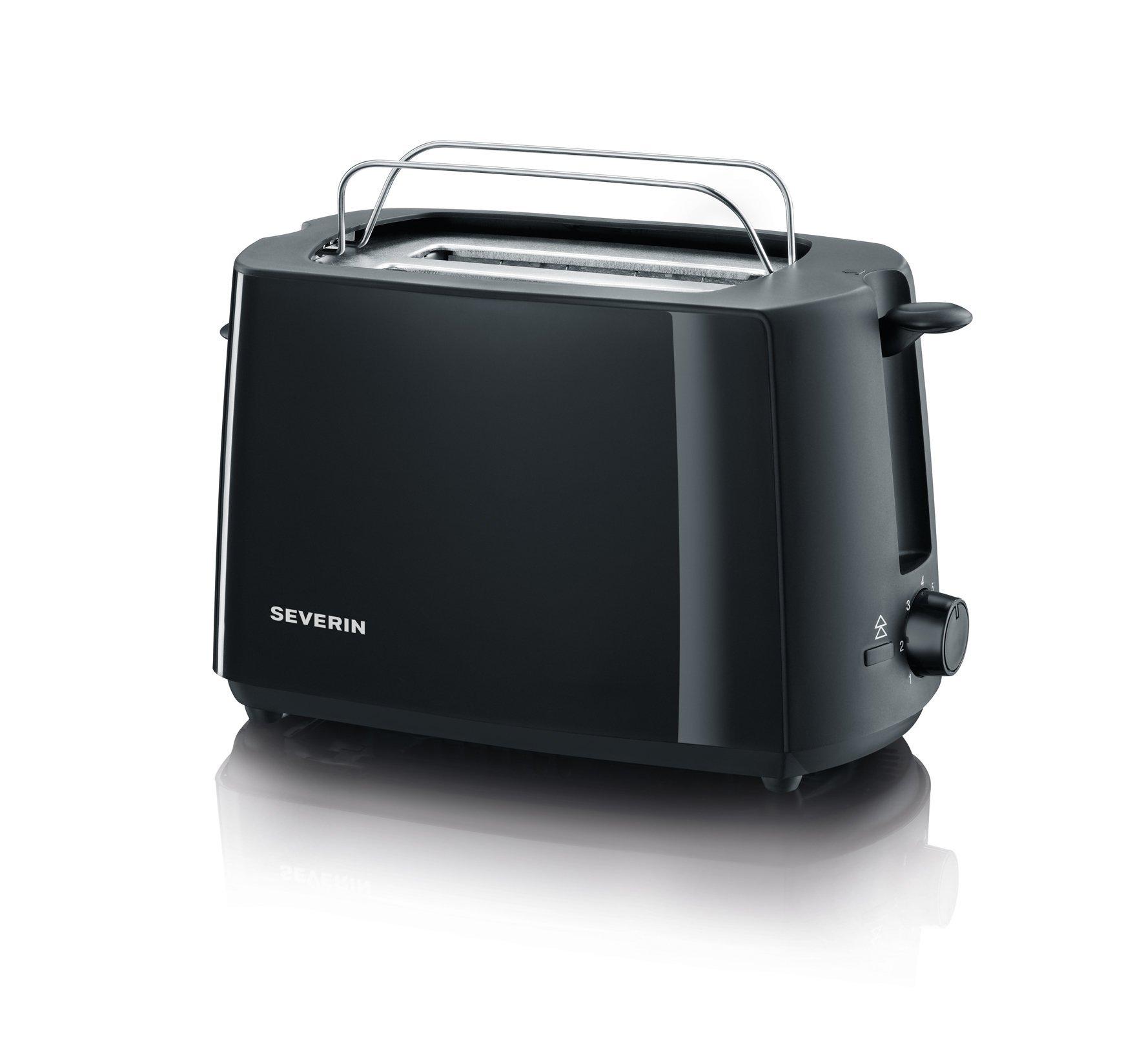 Automatik-Toaster-ca-700-W-integrierter-Brtchen-Rstaufsatz-einstellbarer-Brunungsgrad