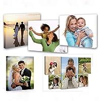 Personnalisez vos photos sur des impressions sur toile, art mural personnalisé de photos de toile encadrées (20x20cm)