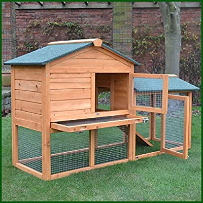 FeelGoodUK Rabbit Hutch, 147 x 85 x 53 cm from FeelGoodUK