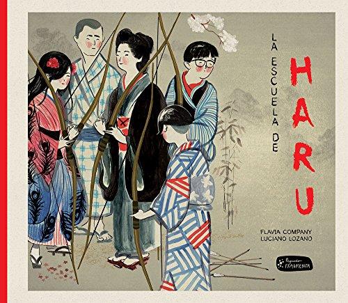 La escuela de Haru (Pequeño Fragmenta) por Flavia Company Navau