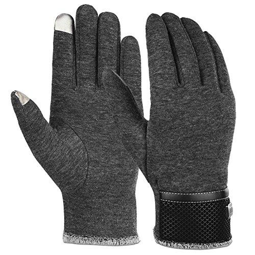 Vbiger TouchscreenHandschuhe Winter Handschuhe Outdoor Handschuhe Warme Handschuhe mit F