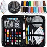 Rovtop 140 in1 Sewing Kit- Mini Sewing Supplies,Thread,Needles,Pins for Travel,Beginner