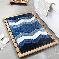 Wjsw Geometrisches Muster Super Weicher Hochflor Saugfähig Antirutschmatte Teppich,Bodenheizung Innen und Außen... preisvergleich bei billige-tabletten.eu