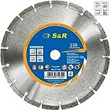 S&R Disque lame diamant à découper 230mm, pour tous matériaux,qualité professionnelle