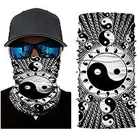ShopINess Pañuelo bandana multiuso Yin-Yang