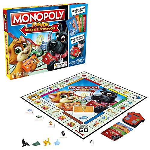 Monopoly – Junior Electronique – Jeu de Société – E1842