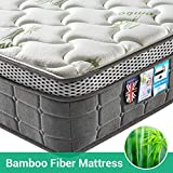 Lv. life 4D Bamboo Fiber Mattress,Pocket Springs and Memory Foam - 9-Zone Orthopaedic Mattress