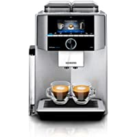 Siemens EQ.9 plus connect s700 Kaffeevollautomat TI9575X1DE, Personalisierung, 2 Bohnenbehälter, Mahlwerke, extra leise, 1.500 Watt, edelstahl
