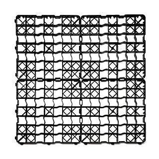 acerto Lawn Lattice Plastic Plate 50x 50x 4cm/Can be Befahr–240T/M² High Quality Lawn Grids, Paddockplatten