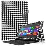 'Fintie-Schutzhülle FLIP mit Tür Eingabestift für Microsoft Surface RT/Surface 210.6Nicht kompatibel mit Windows 8Pro Surface 2 / Surface RT - - ZG-Ho&stooth Schwarz