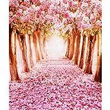 Generic 1.5 x 2.2m Studio Plaine Photographie Prop Fond Photo Toile de Fond Mur - Fleur