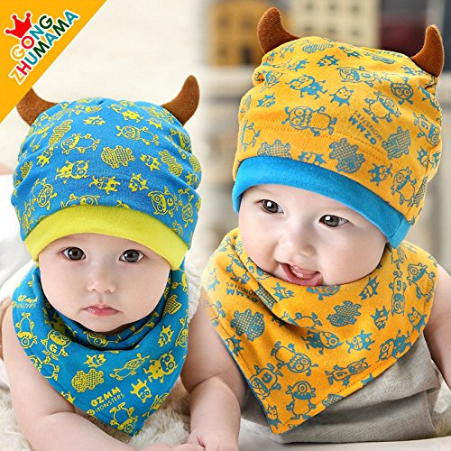 61aef91b1 27% OFF on Generic crown hat : Spring and autumn baby hat thin baby girl caps  summer hat cotton kids hat on Amazon | PaisaWapas.com
