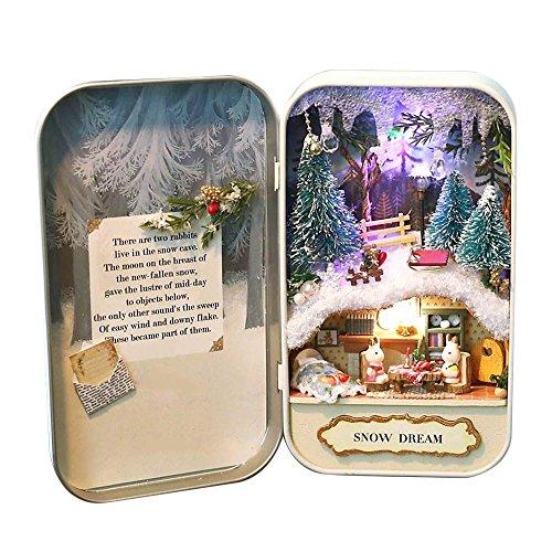 dollhouse-diy-3d-theater-miniature-box-led-doll-houses-kids-girl-toy-snow-dream-yellow