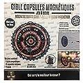 les colis noirs lcn Jeu a Boire de Flechettes Cible Magnetique pour capsules - Soiree Biere Gage Fete Anniversaire - 967