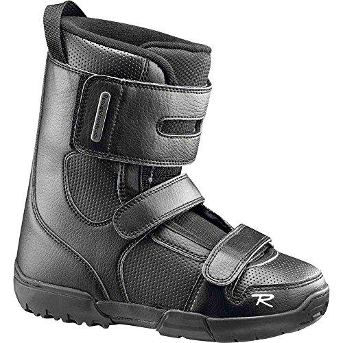 Rossignol-Schuhe Snowboard Crumb Kid Schwarz-Größe 19-Schwarz, schwarz