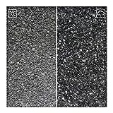 Kieskönig 25 kg Marmor Fugensplitt 1-3 mm für dekorative farbige Pflaster- oder Plattenfugen Schwarz