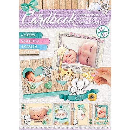 Studio Licht Baby Karte Buch, Mehrfarbig -