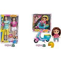 Giochi Preziosi Me Contro Te Sofì E Luì Fashion Doll Coppia, Multicolore, Mec33000 & Me Contro Te Mini Doll 12 Cm Sofi…