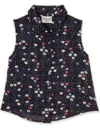 Cherokee Girls' Plain Regular Fit Shirt