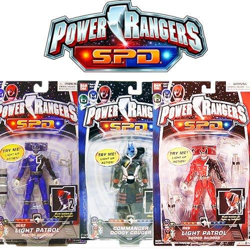 Power Rangers SPD Space Patrol Delta Personaggio da 12 cm con Accessorio
