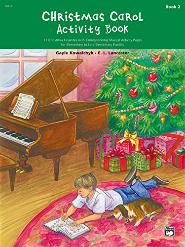 Christmas Carol Activity Book, Bk 2