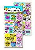 Paper Projects Little Miss Design 3D Lenticular Stickers