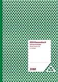 RNK 3160 Kassenbuch mit 2 x 50 Blatt, heraustrennbare Belege mit Durchschreibepapier, DIN A4