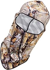 Generic Outdoor Motorcycle Riding Fishing Full Face Head Cover Hood Protector UV Cap Hat Camouflage
