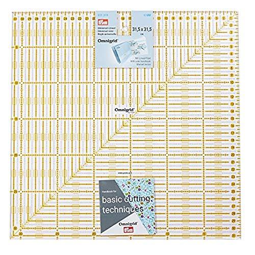 Prym 611319 Universal-Lineal 31,5 x 31,5 cm