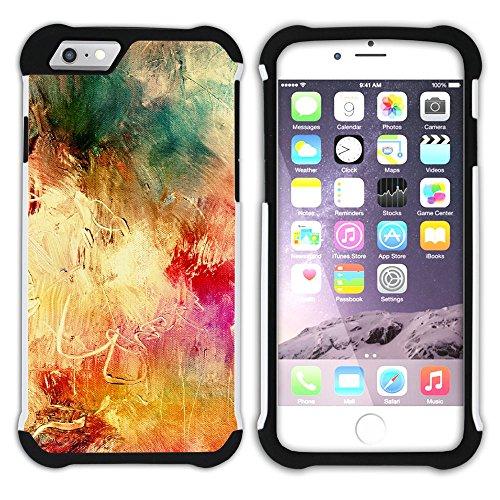 Graphic4You Flasche Farbe Farben Kunst Gemälde Malerei Hart + Weiche Kratzfeste Hülle Case Schale Tasche Schutzhülle für Apple iPhone 6 Plus / 6S Plus Design #18