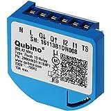 Qubino ZMNHND1 1D Unterputz-Relais (12,3 kW) schwarz, blau