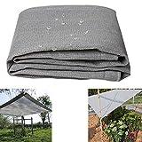 HXLQ Sonnencreme Schatten Tuch Vorhang Plane GewäChshaus-Schatten-Netz  Wasserdicht Und Atmungsaktiv