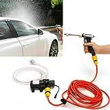 MASO Draagbare Hogedrukreiniger 12 V, Auto Elektrische Waterreiniger Wassen Pomp Kit Jet Wash Cleaner Slang voor Auto Thuis T