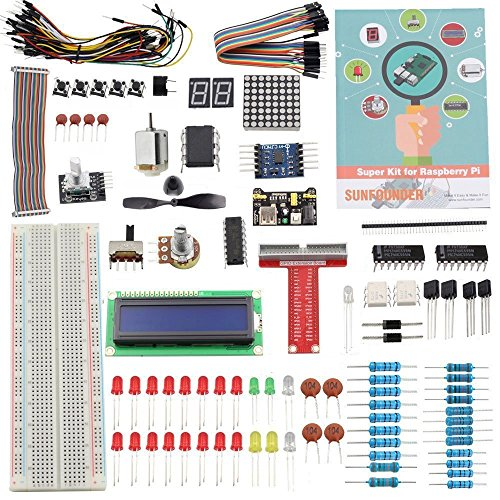 Sunfounder Project Super Starter Kit for Raspberry Pi (for RPi 3/2/B+ with English Manual)