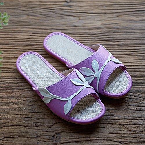 36 rossa può pantofole Rosa di lino 54 del caffe lestate 44 Tp1wng