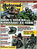 Motorradfahrer 10/2019 'BMW S 1000'
