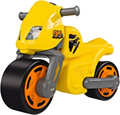 BIG 56329 - New-Bike-Racing, Speed Bike, Kinderfahrzeug, gelb