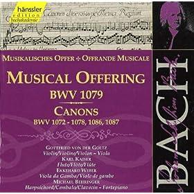 Kanon zu sechs Stimmen, BWV 1076