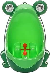 AKUKU Kinder Training Toilette//Urinal//Pissoir f/ür Jungen ab 1 Jahr beige braun Komplett Set f/ür einfache Montage